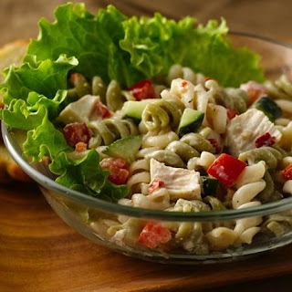 Chicken Parmesan Pasta Salad