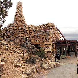 Boar's Nest Gift Shop by David Walters - Landscapes Travel ( az, grand canyon national park, lumix fz200, food, coffee, rocks )