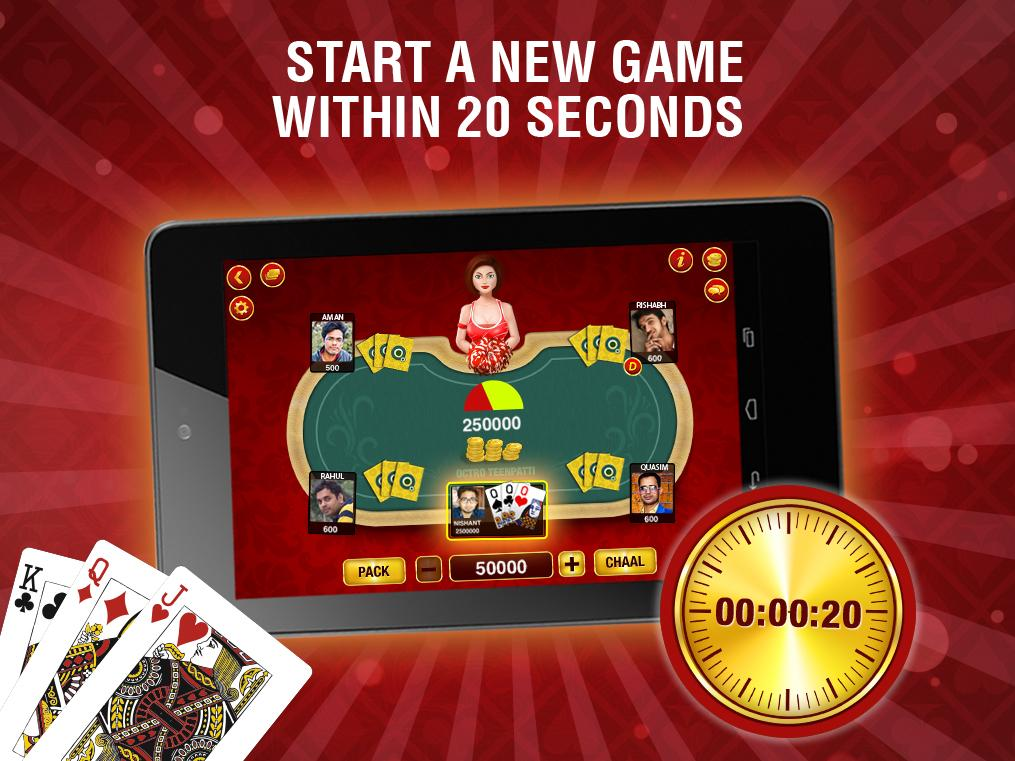 Teen Patti - Indian Poker Screenshot 2