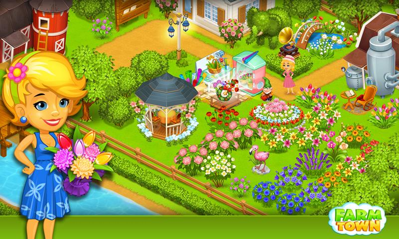 Farm Town:Happy City Day Story Screenshot 3