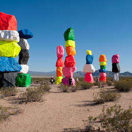 Seven Magic Mountains by Ruben Garcia Villamil - Artistic Objects Other Objects