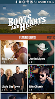 Screenshot of Boots & Hearts Music Festival