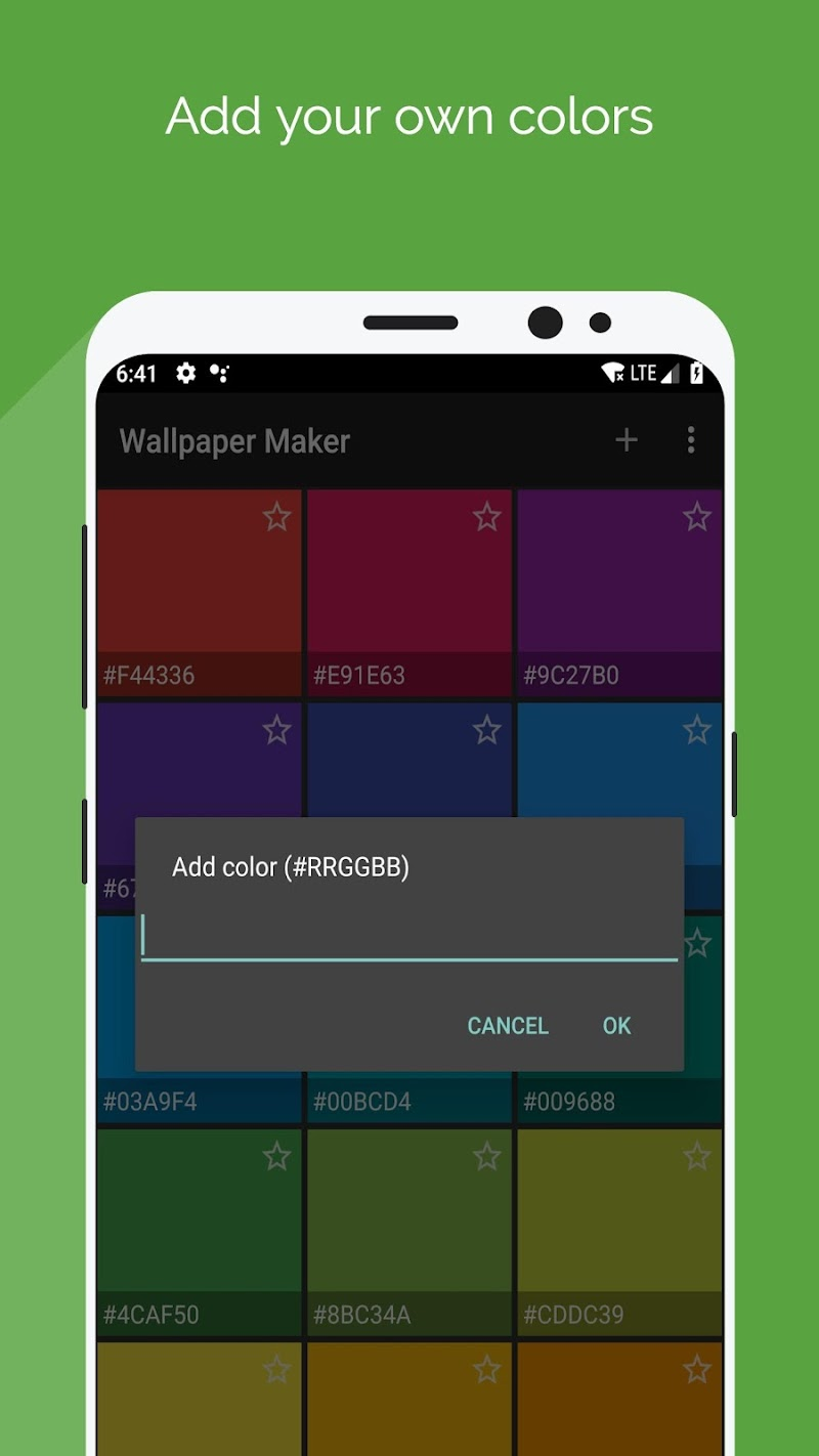 Wallpaper Maker - Best Plasma Gradiant background Screenshot 1