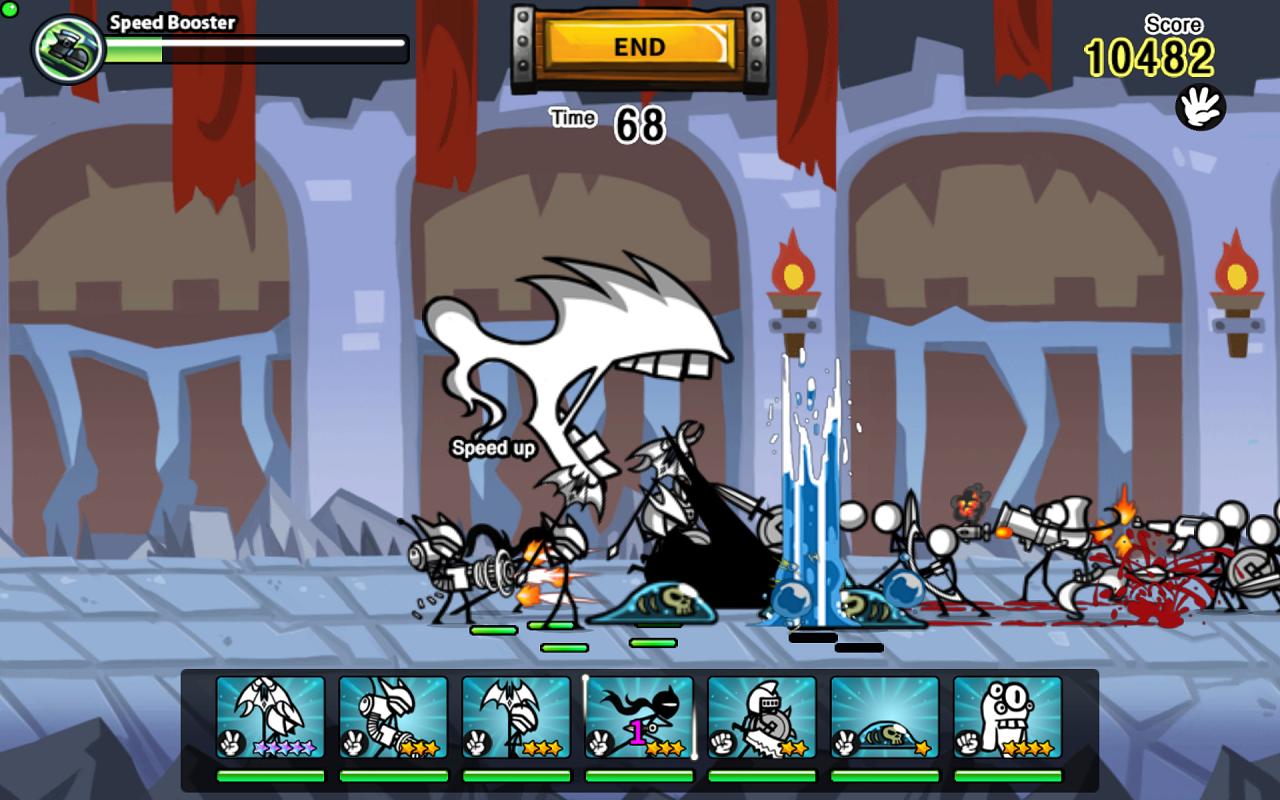 Cartoon Wars 0 – Screenshot