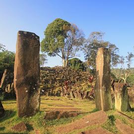 Gunung Padang Megalith by Irwan Setiawan - Landscapes Caves & Formations ( pajajaran, pakuan, galuh, lost, cianjur, indonesia, sunda, landscape, atlantis )