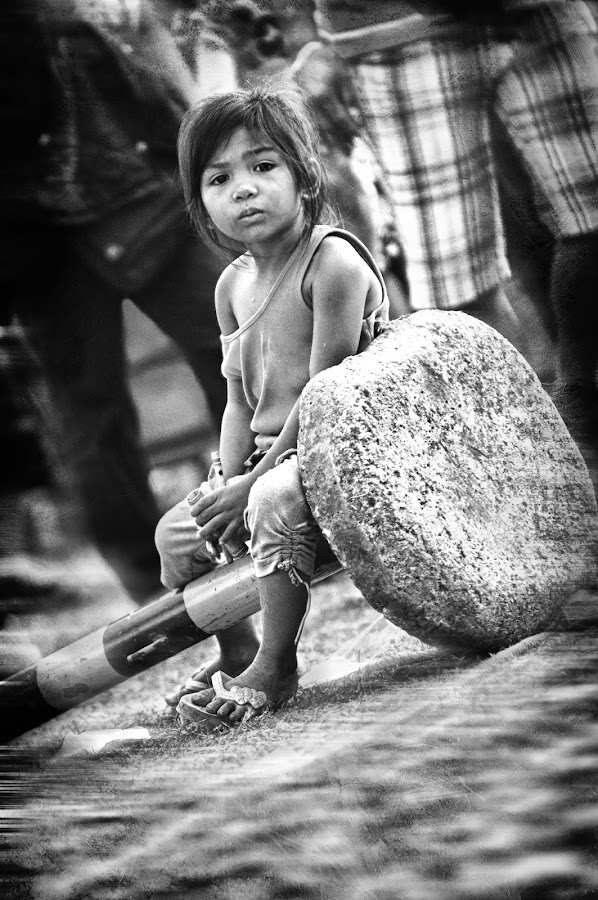 Alone by Sunny Merindo - News & Events World Events ( smerindo, street, baguio, candid )