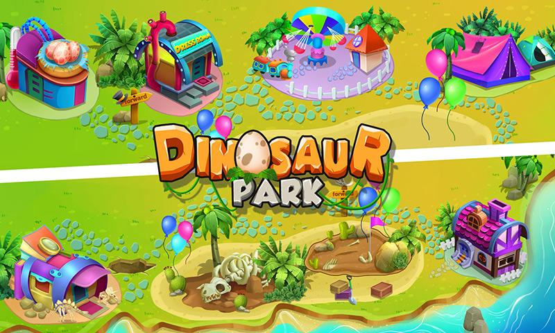 android Dinosaur Park: Dino Baby Born Screenshot 3