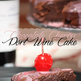 Chocolate Cherry Port Wine Cake Recipe!