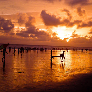 Sunset at Coxbazar ( Shonar Bangla ).jpg