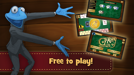 Gin Rummy Multiplayer- screenshot