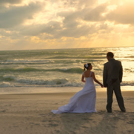 Future Looks Bright by Brenda Shoemake - Wedding Bride & Groom (  )