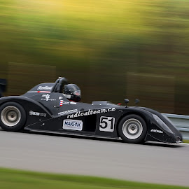 Full speed by Jiri Cetkovsky - Sports & Fitness Motorsports ( car, brno, panning, radical team, race )
