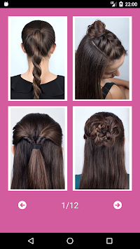 Best Hairstyles Step By Step APK screenshot thumbnail 10