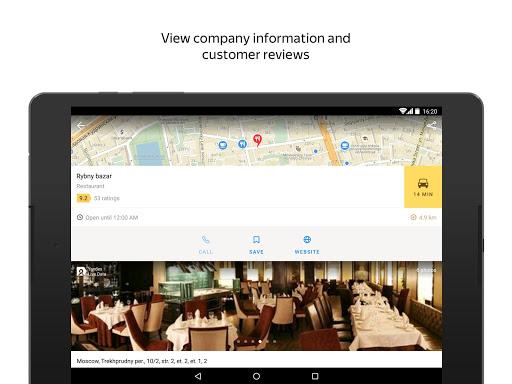 Yandex.Maps screenshot 10