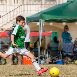 The power  by Sanjoy Sengupta - Sports & Fitness Soccer/Association football ( #muscat, #nikon, #football, #nikon middle east, #kids, #oman, #mcfl, #mcfl 2015,  )