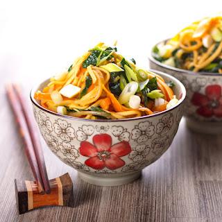 Stir Fried Noodles Spring Onions Recipes