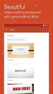 App Microsoft PowerPoint APK for Kindle