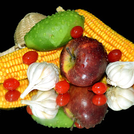 coloured delight by SANGEETA MENA  - Food & Drink Fruits & Vegetables