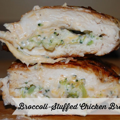 Broccoli-Stuffed Chicken Breasts