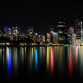 Do you want some candeh? by Ty Hanson - City,  Street & Park  Skylines ( australia, brisbane, cany, night, photography, city )