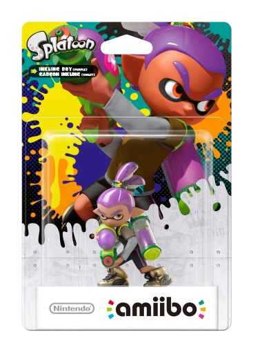 Inkling Boy - Purple packaged (thumbnail) - Splatoon series