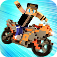 Blocky Motorbikes - Racing Competition Game