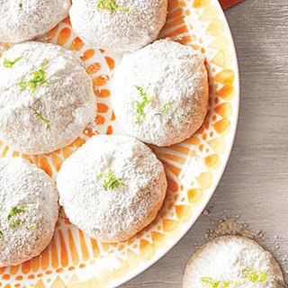 Lemon-Lime Mexican Wedding Cookies