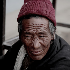 Weathering by Sanat Adhikari - People Portraits of Men