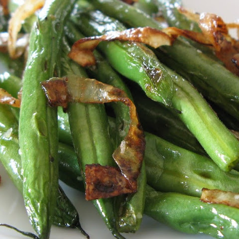 Pan-Roasted Green Beans