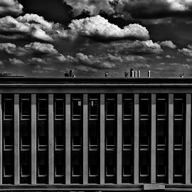 Jen tak by Edita Šidélková - Buildings & Architecture Homes ( dům, kavárna, pekárna, okna, mraky )