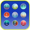 Free Colorful Keypad Lock Screen APK for Windows 8