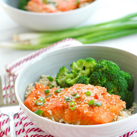 Sweet Chili Sriracha Steelhead Trout