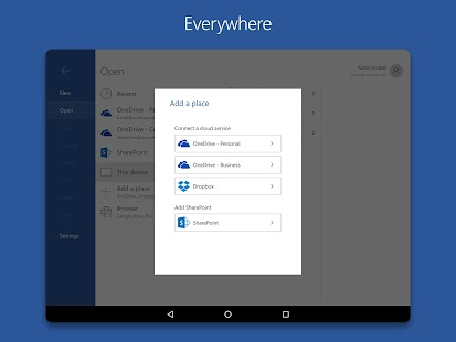 App Microsoft Word apk for kindle fire
