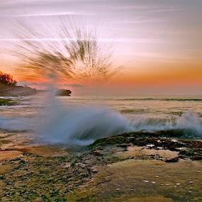 Punk Hazzard by Bertoni Siswanto - Landscapes Waterscapes