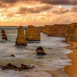 Twelve Apostles by Travis Pambu - Landscapes Travel ( december 2010, twelve apostles, australia, port campbell national park,  )