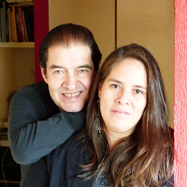 MY DAUGHTER AND ME  by Jose Mata - People Family