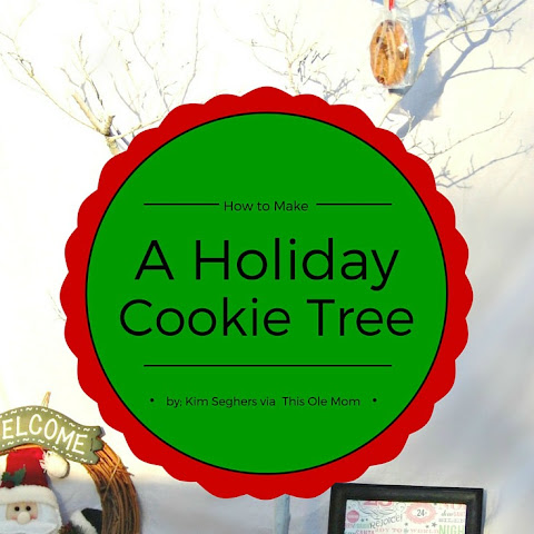 How to Make a Holiday Cookie Tree #CFAcatering