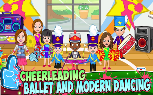 My Town : Dance School- screenshot thumbnail