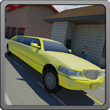 Modern Luxury Limo Taxi Driver