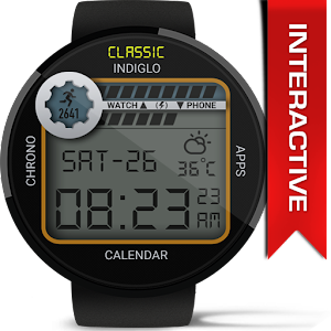 Retro Interactive Watch Face APK Cracked Download
