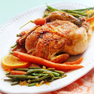 Orange Honey Roast Chicken