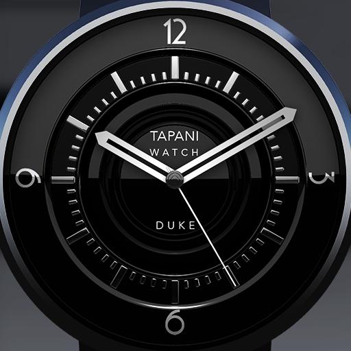 Duke Black wear watch face