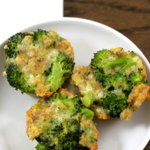 Two Cheese Broccoli Bites