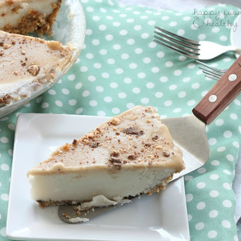 Lightened Up Coconut Caramel Ice Cream Pie