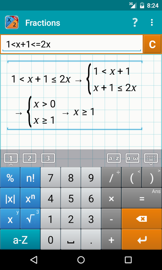 Fraction Calculator + Math PRO Screenshot 3