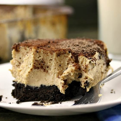 Deep Dish Brownie Crust Peanut Butter Cream Pie