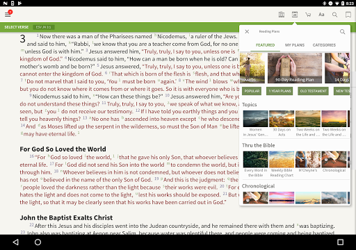 Amplified Classic Bible by Olive Tree screenshot 8