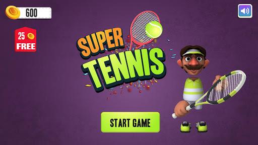 Super Tennis Multiplayer - screenshot
