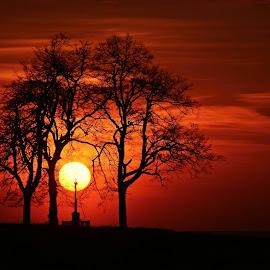 Západ sluníčka by Maki Vykydalova - Landscapes Sunsets & Sunrises ( sunset )