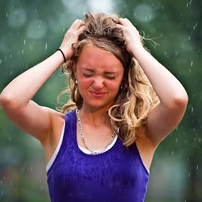 Let it Rain by Jason Brown - People High School Seniors